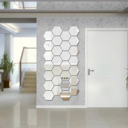 Set de oglinzi hexagonale - design personalizat