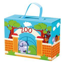 Cestovní kufřík se zvířáky - ZOO RS_70613