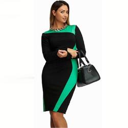 Ženska haljina sa dugačkim rukavima Devin