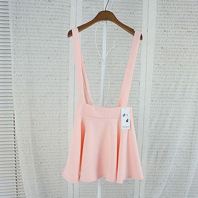 Dámská sukně - kšandy 1