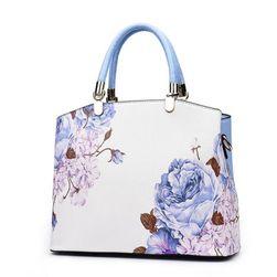 Ženska torba z rožami