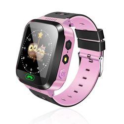 Chytré multifunkčné hodinky pre deti - 2 farby Ružová