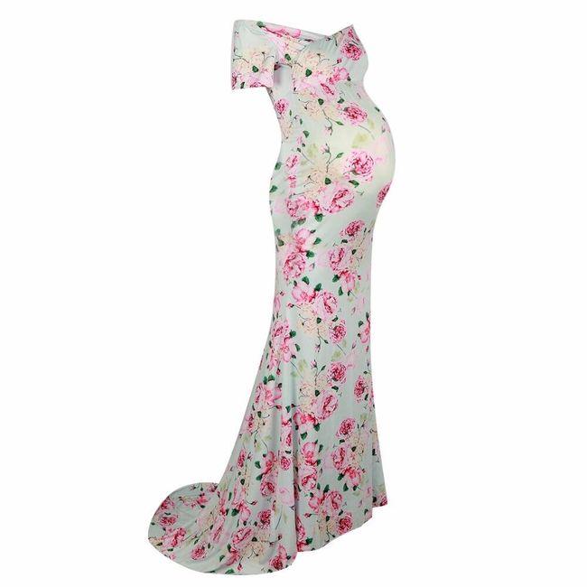 Dlouhé dámské šaty Rosemary 1