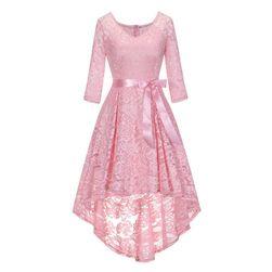 Dámské krajkové šaty s dlouhými rukávy - 3 varianty