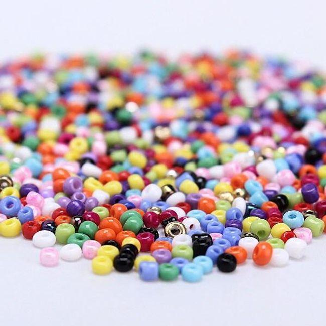Мъниста в много цветове  1