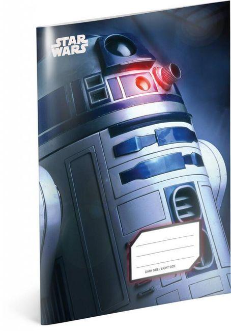 Iskola füzet Csillagok háborúja (Star Wars) -  R2-D2 sz.545 - 5 db 1