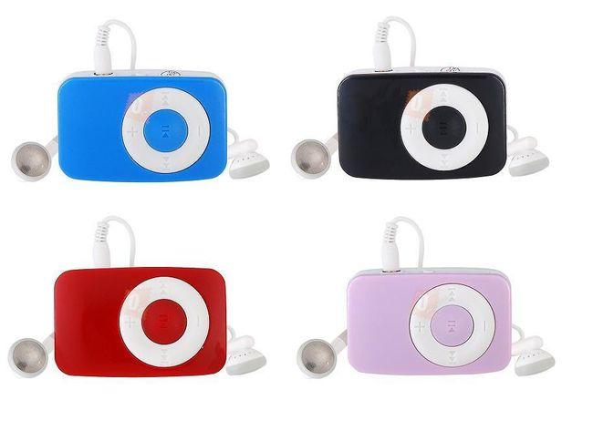 Mini MP3 přehrávač s klipem na microSD kartu - 4 barvy 1