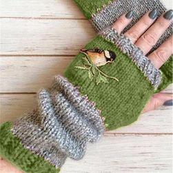 Женские перчатки без пальцев BR457