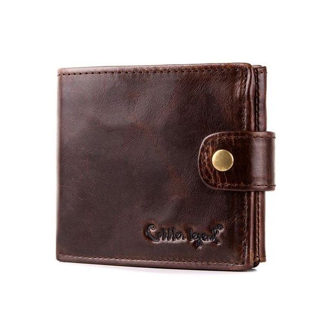 Pánská peněženka v klasickém provedení se cvočkem 1