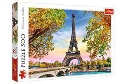 Puzzle Romantická Paříž 500 dílků 48x34cm v krabici 40x26,5x4,5cm RM_89137330