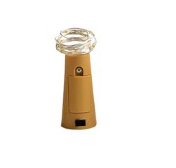 Lampki LED z korkiem