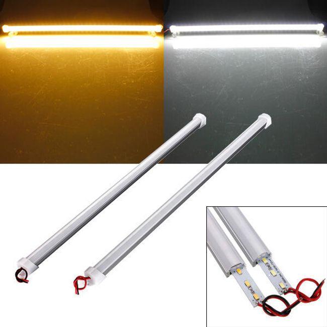 12 V-os fényszóró 36 LED - 50 cm, 2 színű fény 1