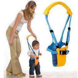 Dziecięcy chodzik - niebiesko-żółty