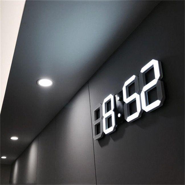 LED digitalni zidni sat - 8 varijanti 1