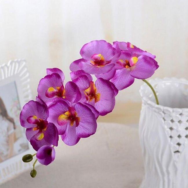Umetna orhideja - 6 barv 1