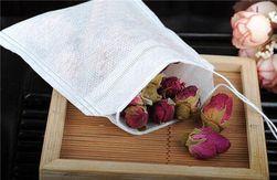 Prazne kesice za čaj od netkanog tekstila - 100 kom