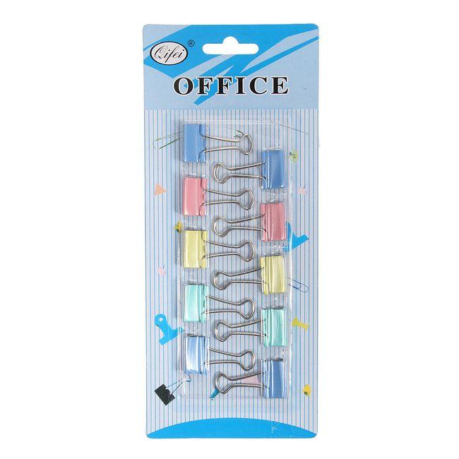 Set pisarniških sponk - 10 kosov 1