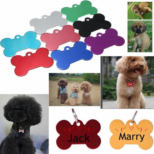 Идентификационный знак для собак - разные цвета 1