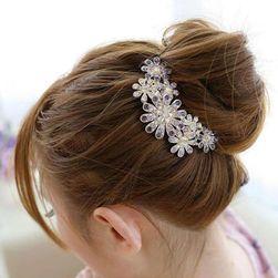 Hřebínek do vlasů s květinami
