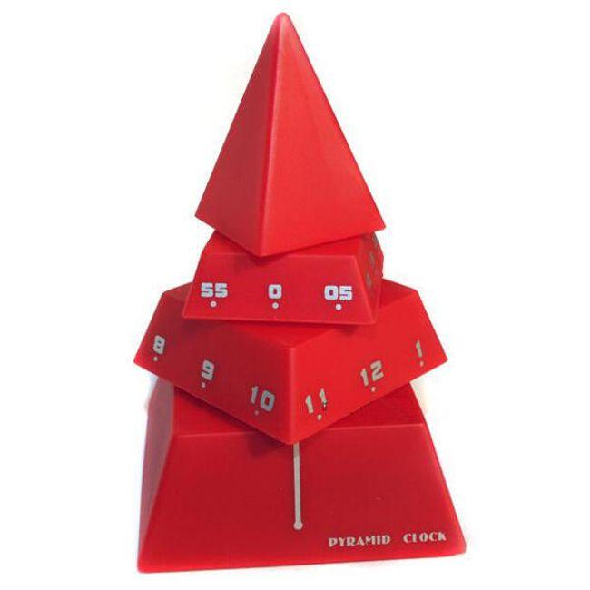 Dekorativní hodiny ve tvaru pyramidy 1