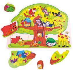 Puzzle vesele živali RS_88119