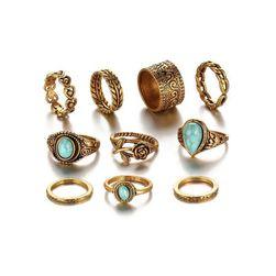 Dámské prstýnky JW969 Zlatá