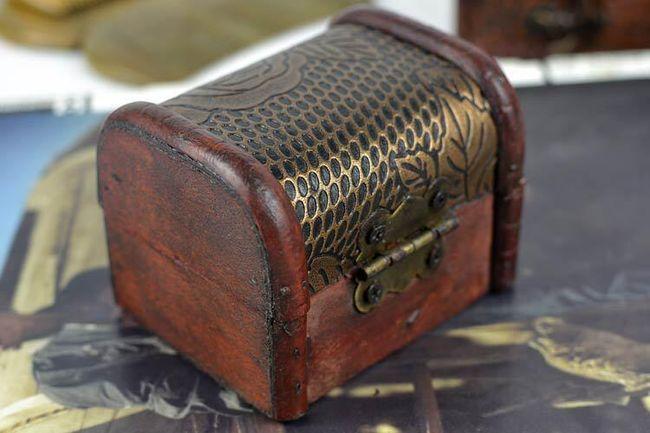 Šperkovnice ve vintage styllu 1