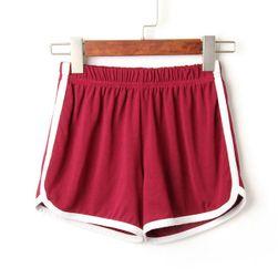 Női rövidnadrág csíkkal - 5 szín