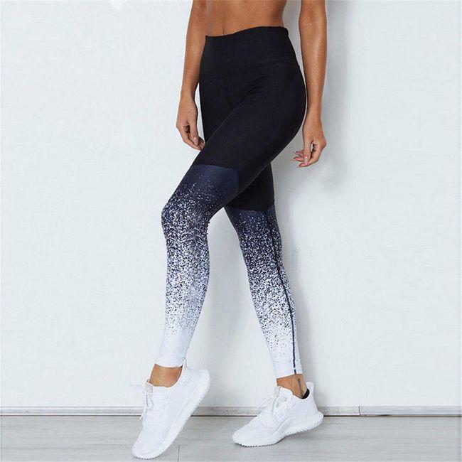 Ženske fitness helanke - 5 boja 1