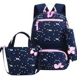 Lány hátizsák kézitáskával és tartóval EDF5
