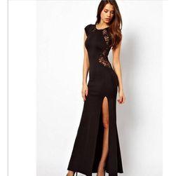 Elegancka długa sukienka - 2 kolory