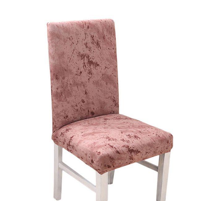 Универсальный натяжной чехол для стульев - 4 цвета 1