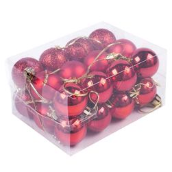 Set ukrasa za božićno drvce - 5 boja