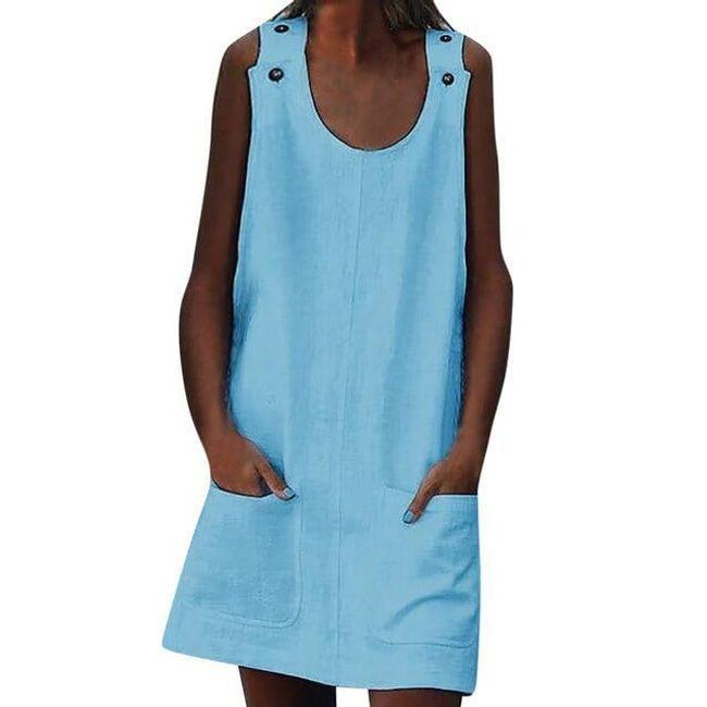 Dámské šaty bez rukávů Tosca 1