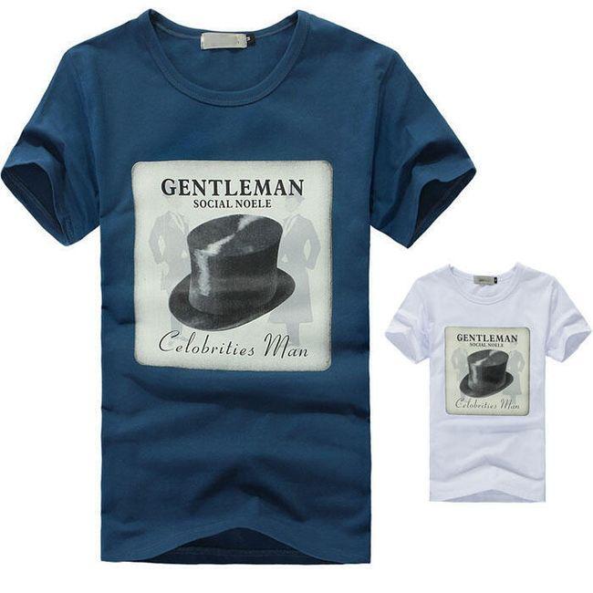 Pánské tričko s potiskem - 2 barvy 1