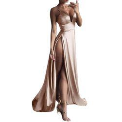 Dlouhé dámské šaty Charlene