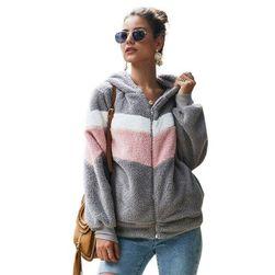 Női kapucnis pulóver Alesia