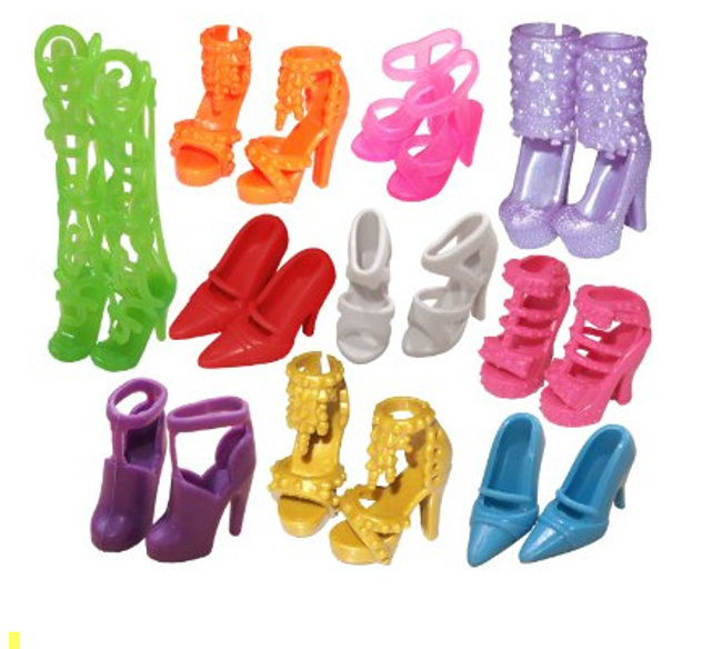 Čevlji za Barbie lutko 1