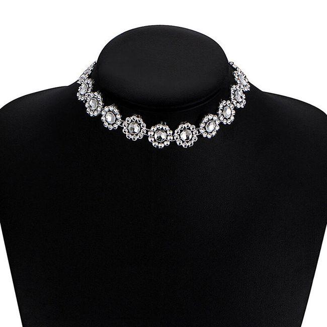 Luxusní společenský náhrdelník - 2 varianty 1