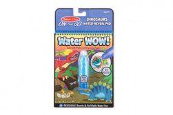 Kouzelné malování vodou Dino omalovánky 15x19cm + štětec RM_88801191