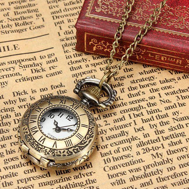 Vintage zegarek na łańcuszku - 3 rodzaje 1