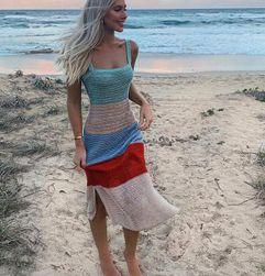 Пляжное платье Abril