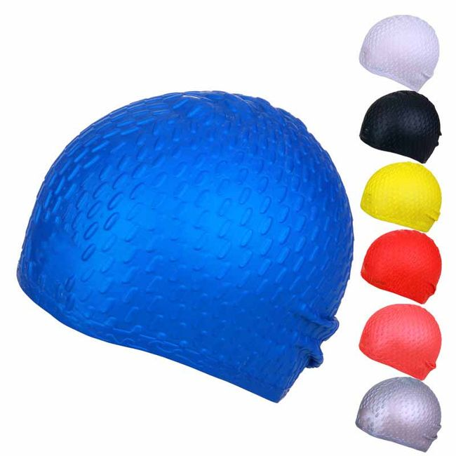 Silikonová plavecká čepice - více barev 1