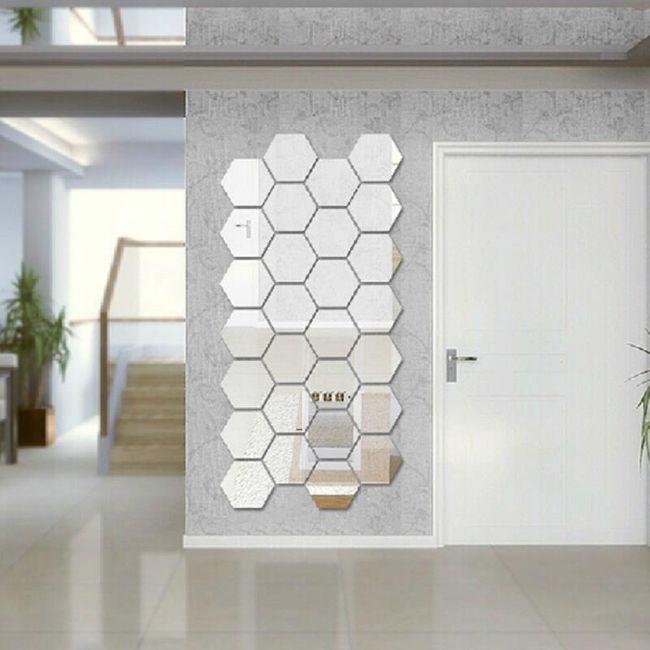 Set šestostranih ogledala - sopstveni dizajn 1