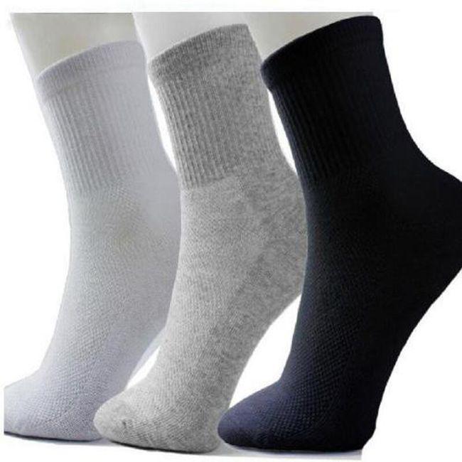 5 Párů ponožek - 3 barvy 1