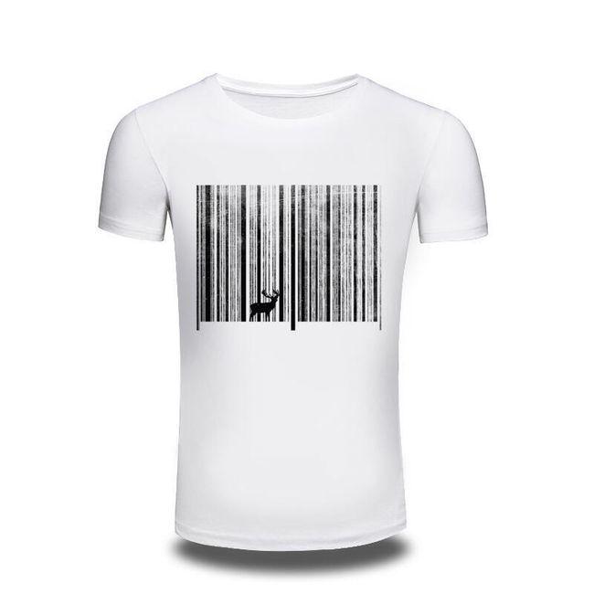 Pánské tričko - bílé 1