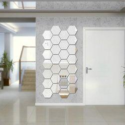 Комплект шестоъгълни огледала - собствен дизайн