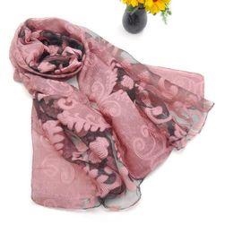Elegantna ešarpa sa cvetnim motivima