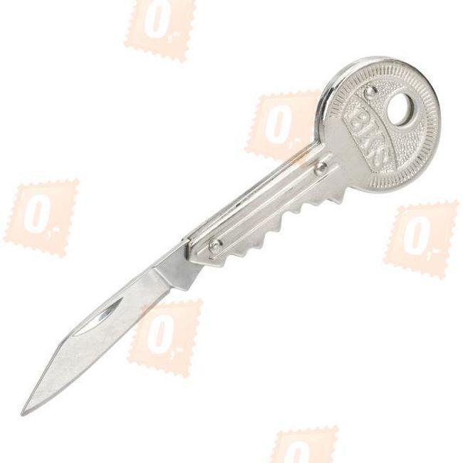 Wisiorek na breloczek - nożyk z rękojeścią w kształcie klucza 1