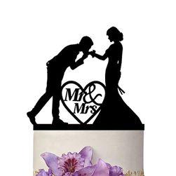 Decorațiune pentru tortul de nuntă - 6 variante